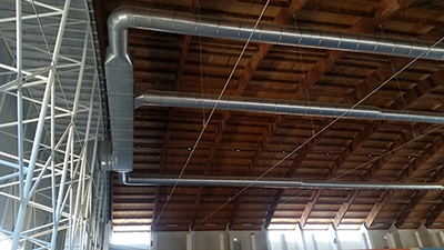 1 - AerJet S.r.l. - Metal and textile ducts for air conditioning distribution