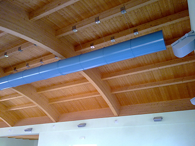 2 - AerJet S.r.l. - Metal and textile ducts for air conditioning distribution